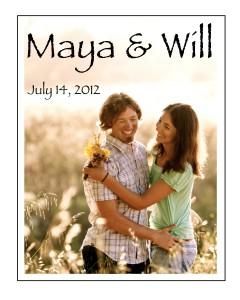 Maya & Will label 2
